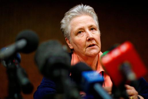 Marie Collins: survivor of abuse by clergy. Photo: REUTERS/Tony Gentile
