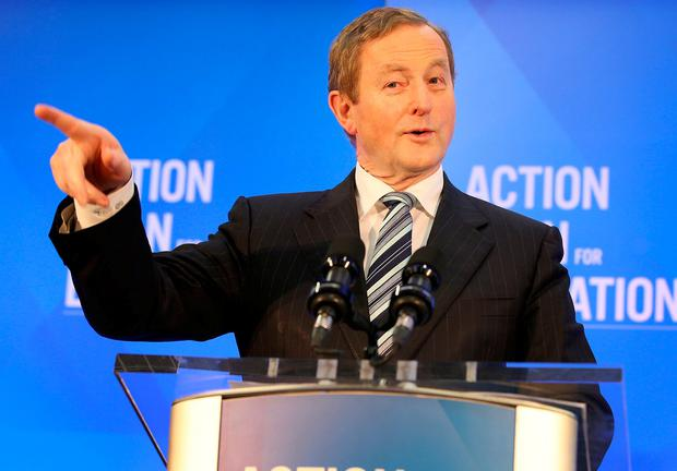 Taoiseach Enda Kenny said the Government would facilitate the passage of legislation. Photo: Frank McGrath