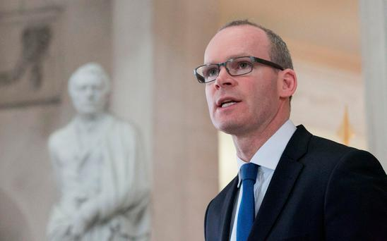 Housing Minister Simon Coveney has told colleagues that he is prepared to turn the tables on Micheál Martin's party if it refuses to back down in the latest water row. Photo: Gareth Chaney Collins