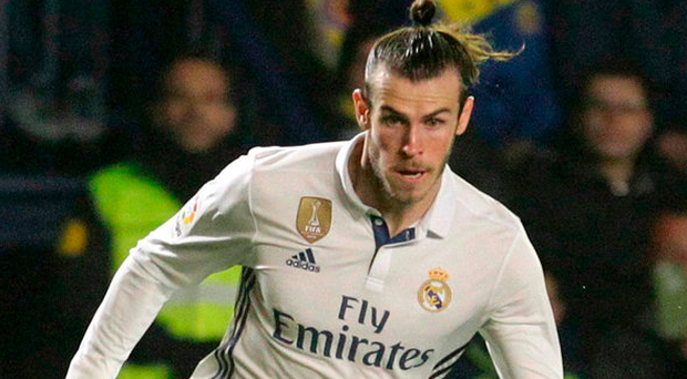 Real Madrid's Gareth Bale Picture: REUTERS/Heino Kalis