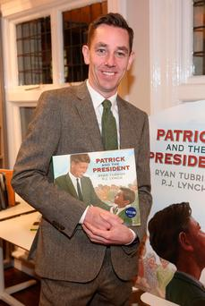 Ryan Tubridy at the launch of his book