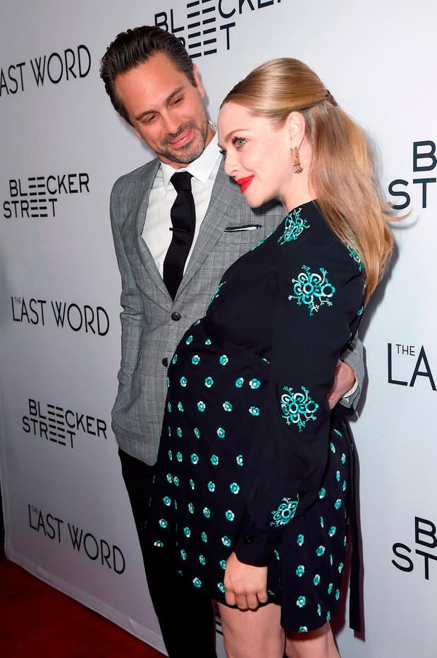 Congratulations! Amanda Seyfried welcomes first child with ...
