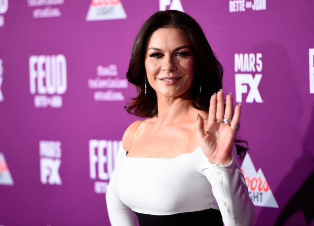 Catherine Zeta-Jones arrives at the Los Angeles Premiere of