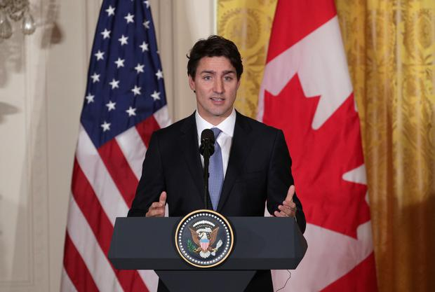 Canadian Prime Minister Justin Trudeau (Photo by Alex Wong/Getty Images)