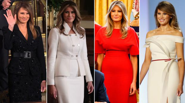 6e9a8591cb Inside Melania Trump s high fashion First Lady wardrobe - Independent.ie