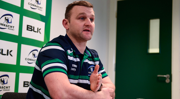 Connacht backs coach Conor McPhillips is joining Bristol Picture: Sportsfile