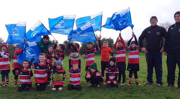 Youngsters from Wicklow's U-7s who took part in the Kieran Burke festival
