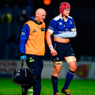 Van Der Flier's injury while playing for Leinster last month slowed his momentum. Photo by Stephen McCarthy/Sportsfile
