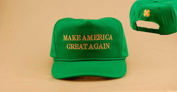5ed097d05d4e3 Trump launches Irish 'Make America Great Again' hat and the price is ...