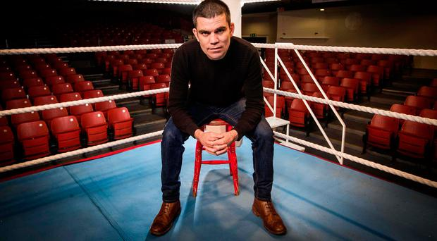 Former WBA Super Bantamweight Champion Bernard Dunne at the eir Sport announcement of their new channel Box Nation Picture: ©INPHO/Morgan Treacy