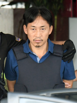 North Korean Ri Jong Chol who was arrested in connection with the death of Kim Jong Un's half-brother