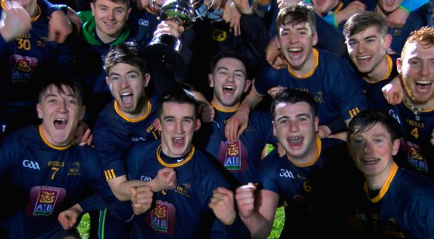 DCU celebrate their Freshers win
