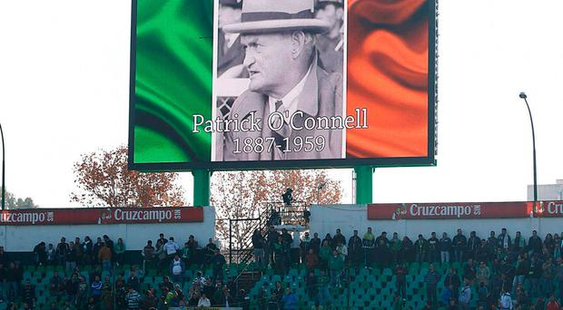 O'Connell led Betis to their one and only La Liga title in 1935 POCfund