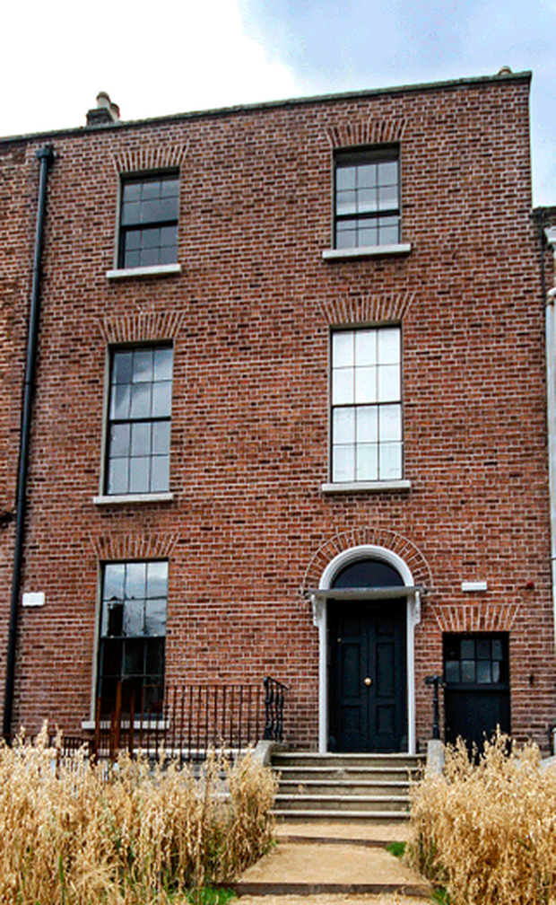 Esther Gerrard and Ed Coveney's duplex apartment: The purchased the spectacular Georgian building in Dublin City with Esther's brother in 2013