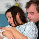 Michelle Connor and husband Steve McDonald were left devastated at the loss of their son at 23 weeks in an emotive storyline on 'Coronation Street' in January