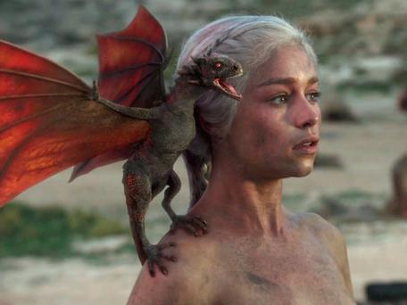 Dungeons and dragons: Game Of Thrones (which stars Emilia Clarke as dragon queen Daenerys) owes a great debt to Norse mythology
