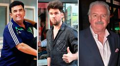 Des Cahill, Eoghan McDermott and Marty Whelan