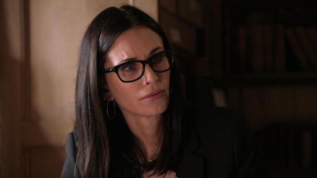 Courteney Cox in TLC's Who Do You Think You Are