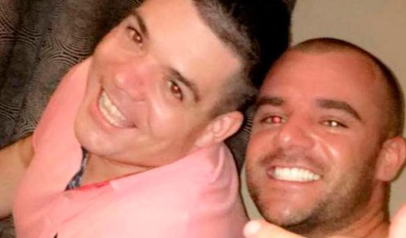 Jonathan Chubb (left) and his brother Gareth, who is awaiting trial in the Netherlands