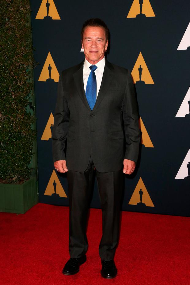 Politician/actor Arnold Schwarzenegger attends the Academy of Motion Picture Arts and Sciences' 8th annual Governors Awards at The Ray Dolby Ballroom at Hollywood & Highland Center on November 12, 2016 in Hollywood, California. (Photo by Frederick M. Brown/Getty Images)