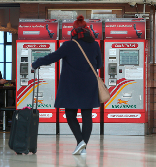 Bus Eireann is no longer a key provider and most travellers have other transport options. Photo: Damien Eagers