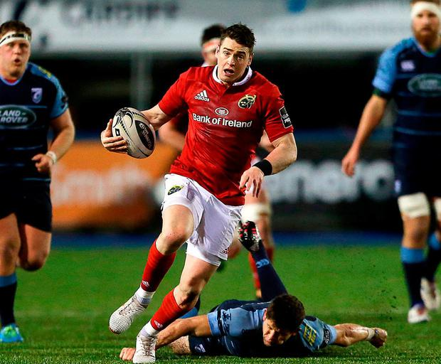 Munster's Ronan O'Mahony. Photo: Darren Griffiths/Sportsfile