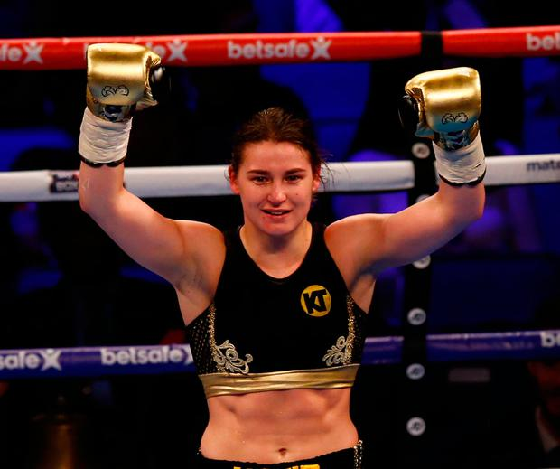 Watch: Katie Taylor's Knockout Combination Was Pretty