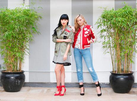 Despite lagging behind the European average, Irish shoppers are snapping up style brands such as V by Very, which has just launched its spring summer collection, on the internet Photo: Leon Farrell/Photocall Ireland