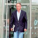 Breifne O'Brien leaving Dublin Circuit Criminal Court in 2014. Pic: Collins Courts.