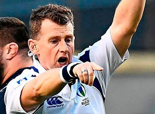 Referee Nigel Owens. Photo: AFP/Getty Images