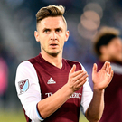 Colorado Rapids forward Kevin Doyle Photo: Ron Chenoy-USA TODAY Sports