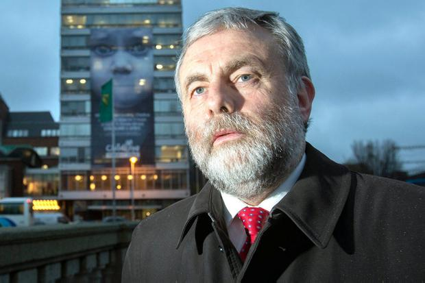 Siptu leader Jack O'Connor, Photo: Tony Gavin