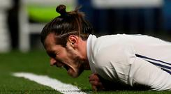 Real Madrid's Gareth Bale. Photo: Sergio Perez/Reuters