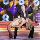 Katherine Lynch & Kai Widdrington bow out of RTE's Dancing with the stars. Pic: Kobpix