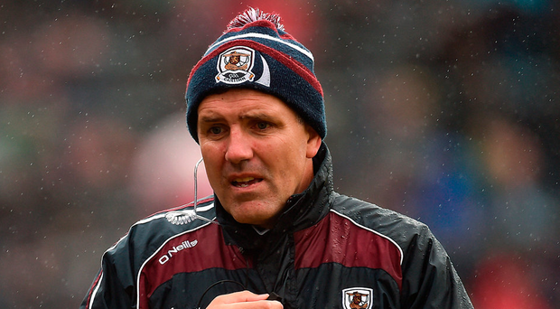 Galway manager Kevin Walsh. Photo: Paul Mohan/Sportsfile