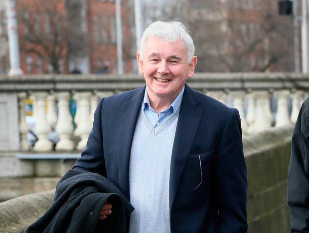 John Gilligan pictured outside the Four Courts. Pic Frank Mc Grath