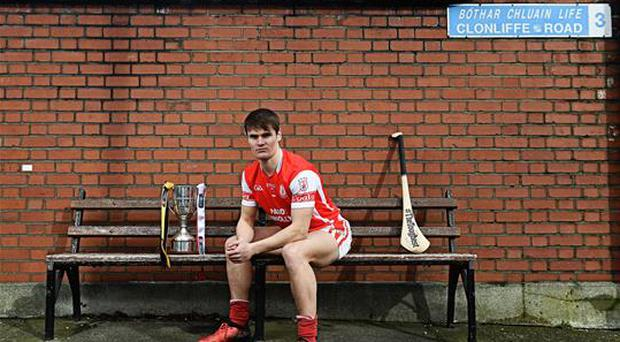 6 March 2017; Cian O'Callaghan of Cuala is pictured ahead of this year's AIB GAA Senior Hurling Club Championship Final. The Dublin club will face Ballyea of Clare in Croke Park on St Patrick's Day. Photo by Ramsey Cardy/Sportsfile