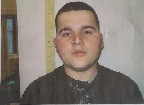 Armend Ajazi (17) from Roundwood Co Wicklow