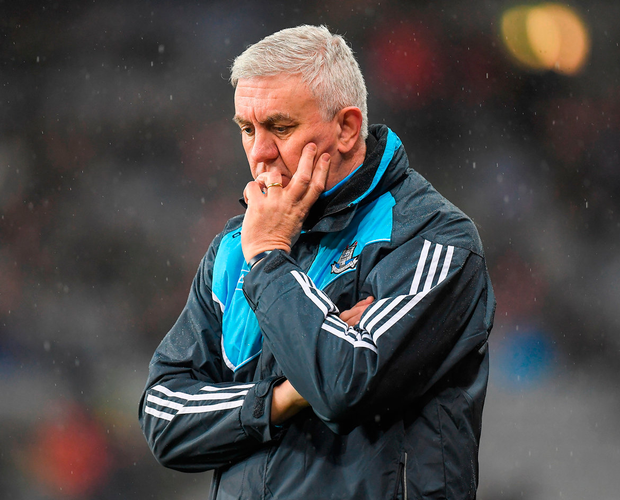 Dublin manager Ger Cunningham will target a win in Clare. Photo: Sportsfile