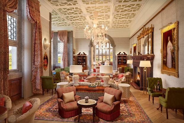 An artist's impression of the refurbished Drawing room. Photo: Liam Burke/Press 22