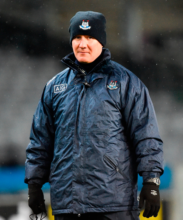 Jim Gavin has a wealth of talent at his disposal and must be pleased with the way his team is progressing after a delayed start to the season. Photo: Sportsfile