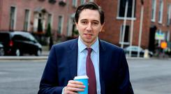 Simon Harris is to focus on his role as Health Minister. Photo: Tom Burke