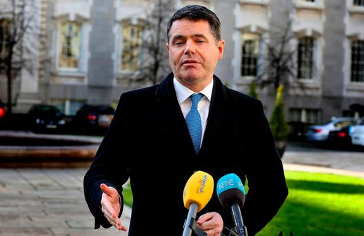 Public Expenditure Minister Paschal Donohoe Photo: Tom Burke
