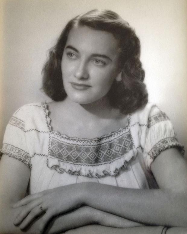 Jean Haley, of Barrington, R.I., when she was about 25 years old. (Haley family via AP)