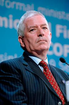 Charlie McCreevy. Photo: Paul O'Driscoll/Bloomberg News
