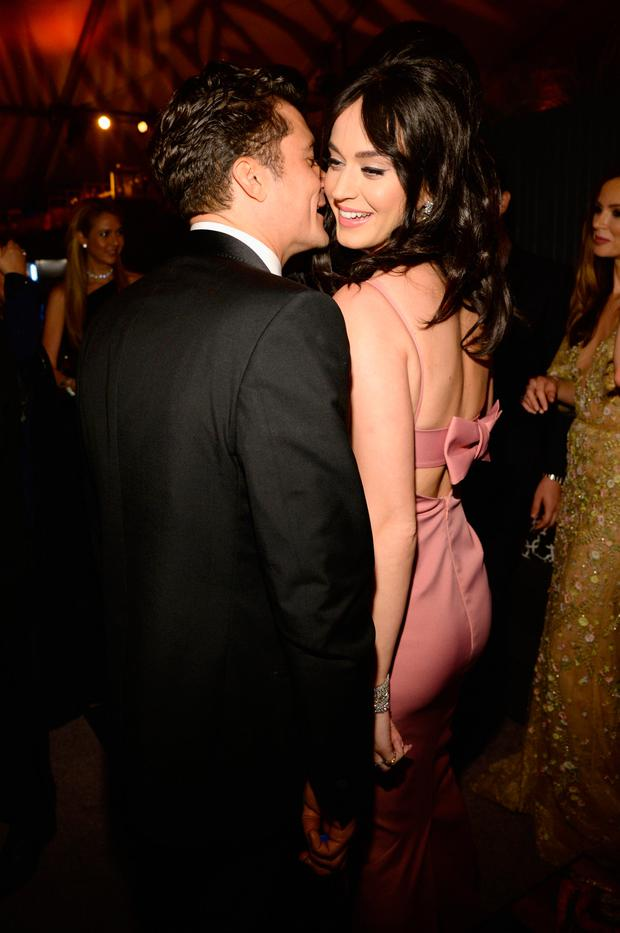Giving each other space: Orlando Bloom and Katy Perry