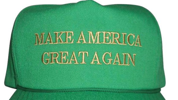 Trump s Make America Great Again hats... the St Patrick s Day edition f7d0749ad985