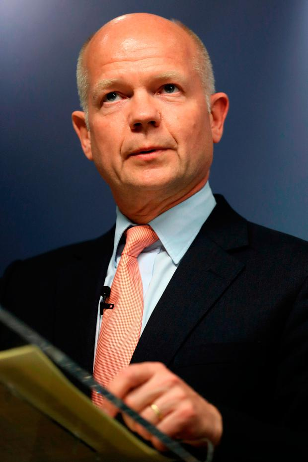Lord Hague, who has urged Theresa May to call an early general election to avoid further parliamentary stand-offs over Brexit. Credit: Dan Kitwood/PA Wire
