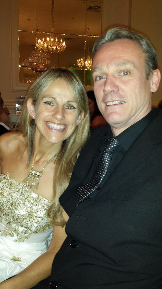 Sharon Shannon and Jimmy Healy. Image: Sharon Shannon/Twitter
