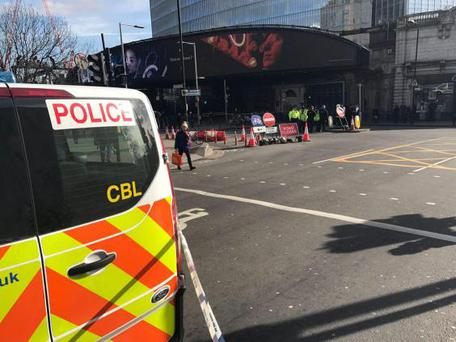 London Bridge Station, the fourth busiest in London, had to be closed Photo: Twitter